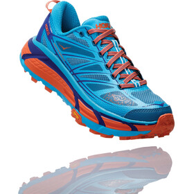 Hoka One One Mafate Speed 2 Running Shoes Women Scuba Blue/Storm Blue